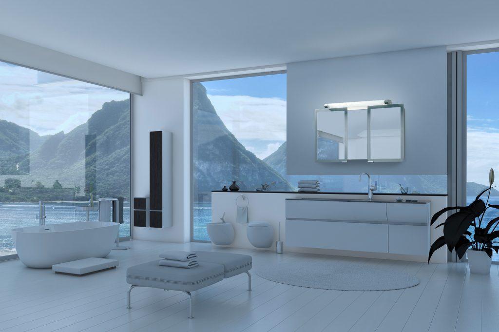 SIDLER® - Axara Bathroom Mirror Cabinets, Medicine Cabinets