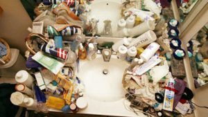 Medicine Cabinets clutter